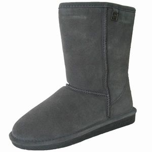 Charcoal Grey Bear Paw Boots